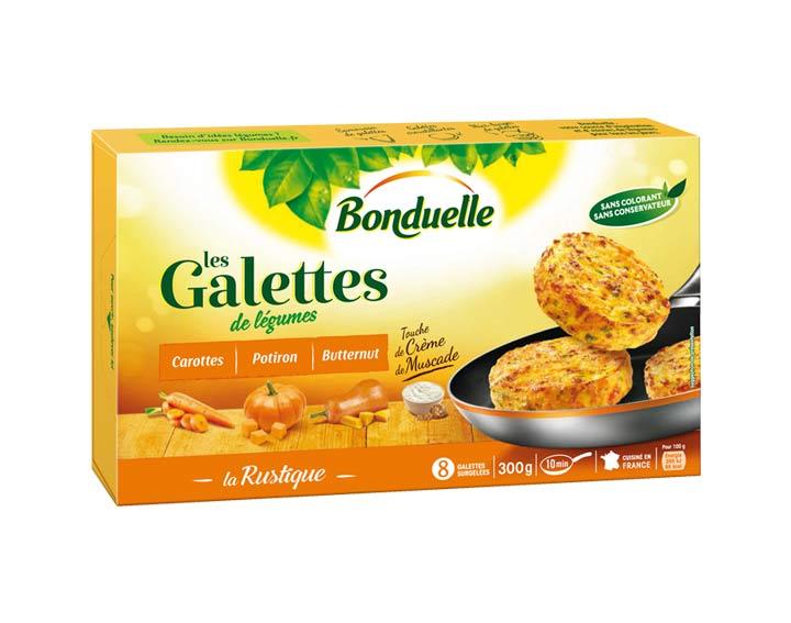 Galettes Potiron & touche de Crème 300g