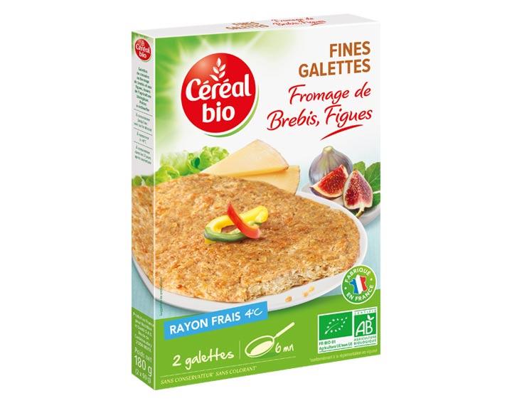 Fines Galettes Fromage de Brebis, Figues