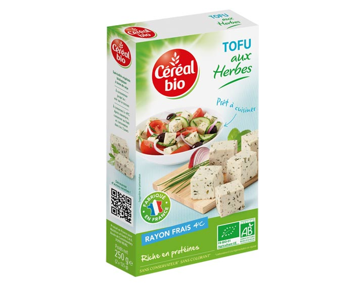 Tofu aux Herbes