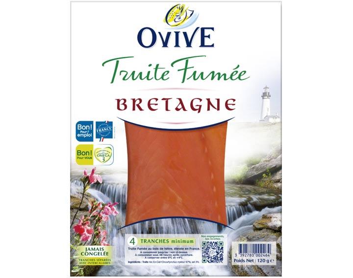 Truite Fumée de Bretagne 4 tranches mini