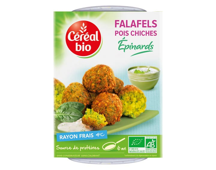 Falafels Pois Chiches Epinards