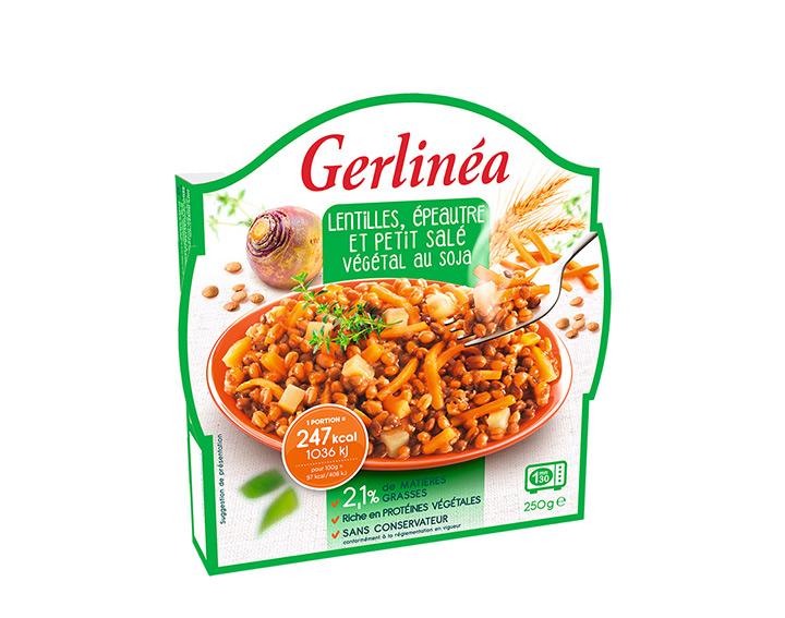 Lentilles, Epeautre et Petit Salé Végétal au Soja