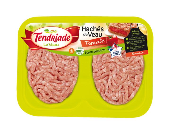 Haché de Veau Façon bouchère tomate 2x100g