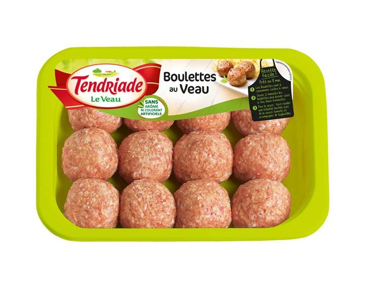 Boulettes au Veau natures 12x30g