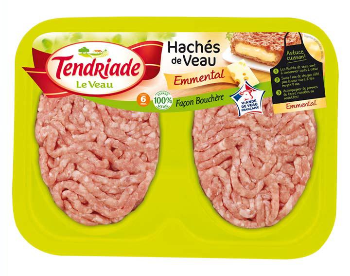 Haché de Veau Façon bouchère fromage 2x100g