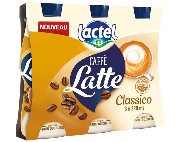 Pack de 3x220ml Caffè Latte Classico