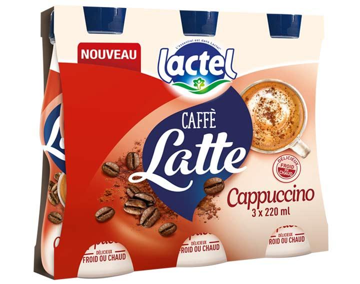 Pack de 3x220ml Caffè Latte Cappuccino