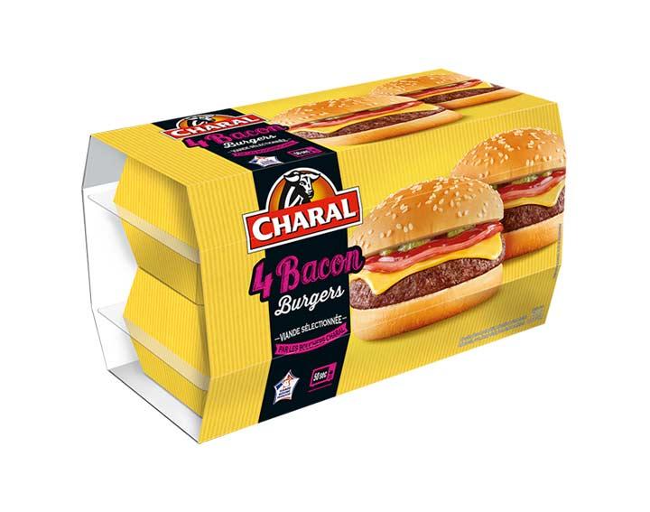 Baconburger x4
