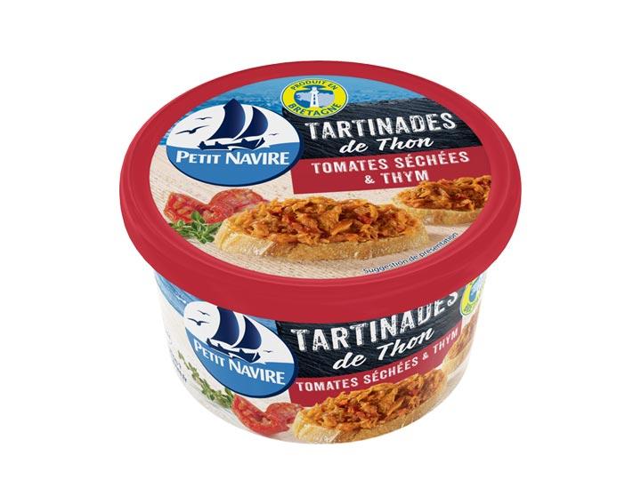 Tartinades de Thon Tomates Séchées & Thym