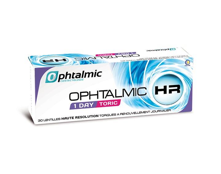 Grâce à ces lentilles journalières pour astigmates, gagnez sur toute la ligne !