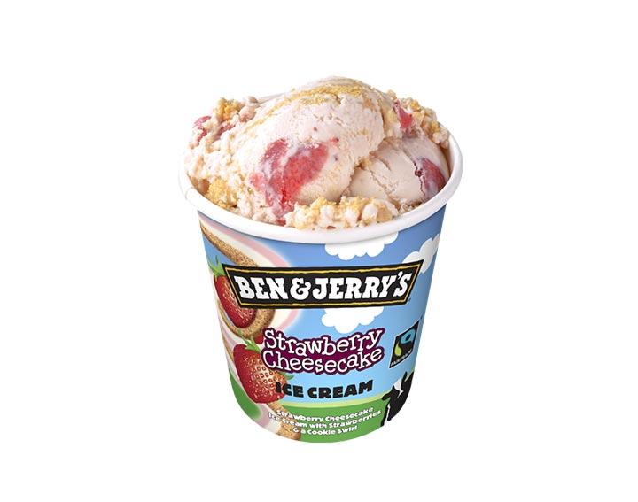 Ben&Jerry's Strawberry Cheesecake 500ml