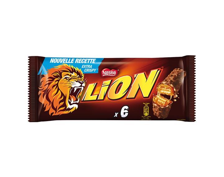 LION® 6 barres chocolatées