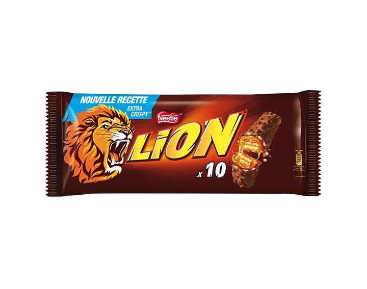 LION® 10 barres chocolatées