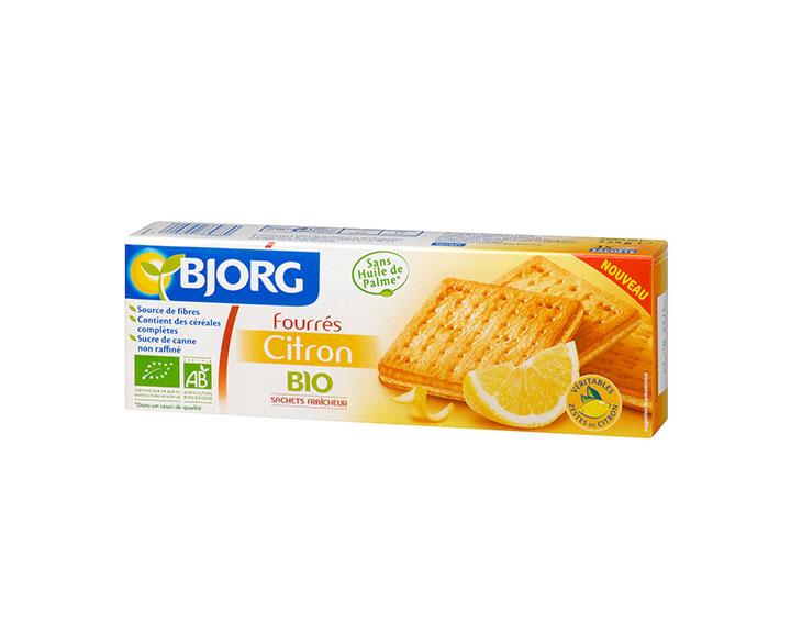 Bjorg Fourrés Citron Bio 225g