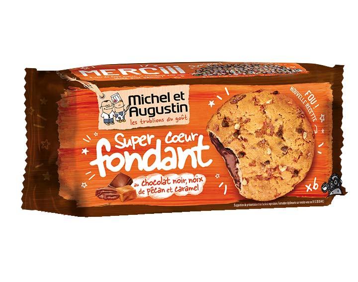 Cookies coeur fondant pécan caramel 180g