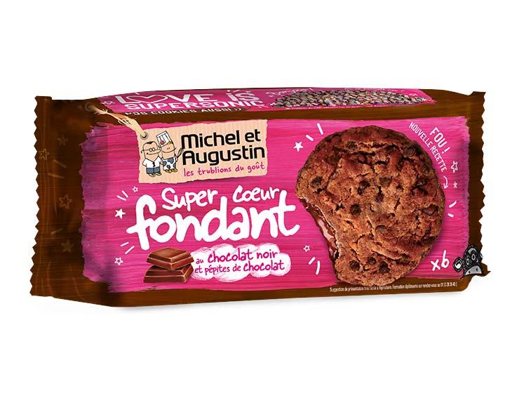 Cookies coeur fondant tout chocolat 180g