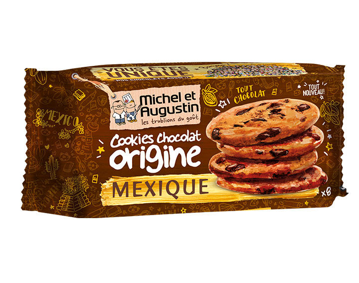 Cookies au chocolat du Mexique 180g