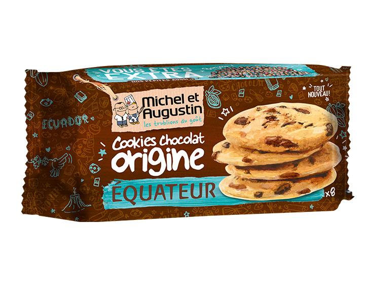 Cookies au chocolat d'Equateur 180g