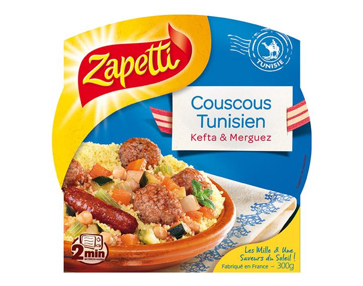 Couscous Tunisien Kefta et Merguez