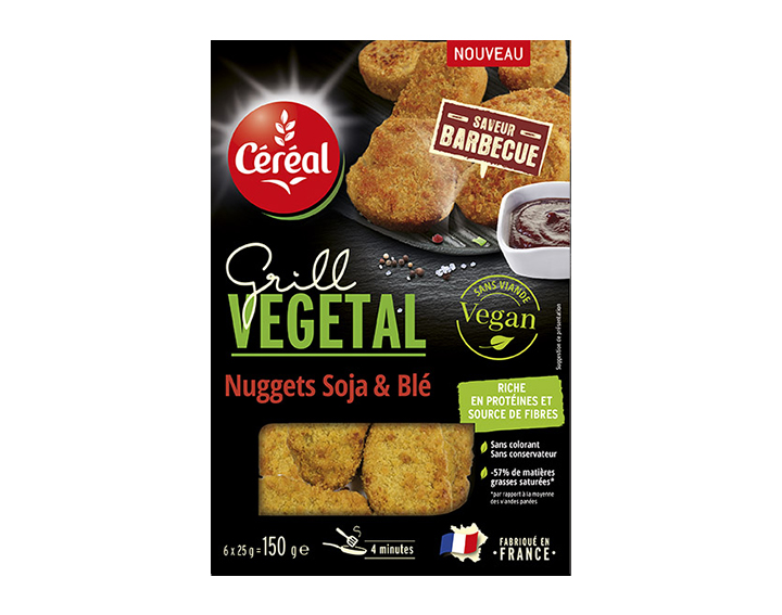 Nuggets Soja & Blé Saveur Barbecue