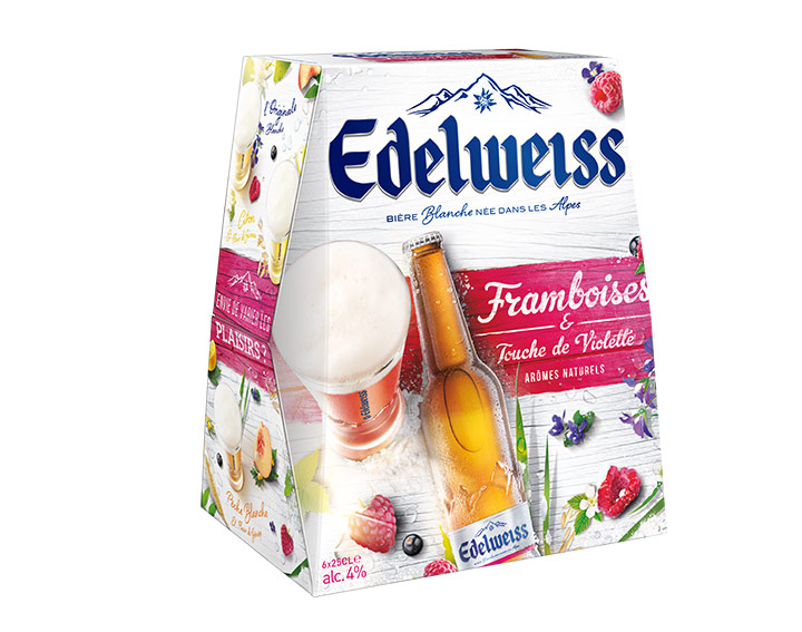 Edelweiss Framboises et Touche de Violette