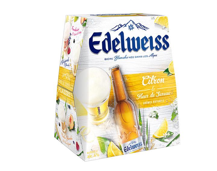 Edelweiss Citron et Fleur de Sureau