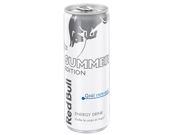 Red Bull Summer Edition – Goût coco-açaï