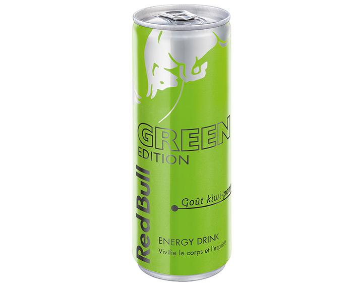 Red Bull Green Edition – Goût kiwi-pomme