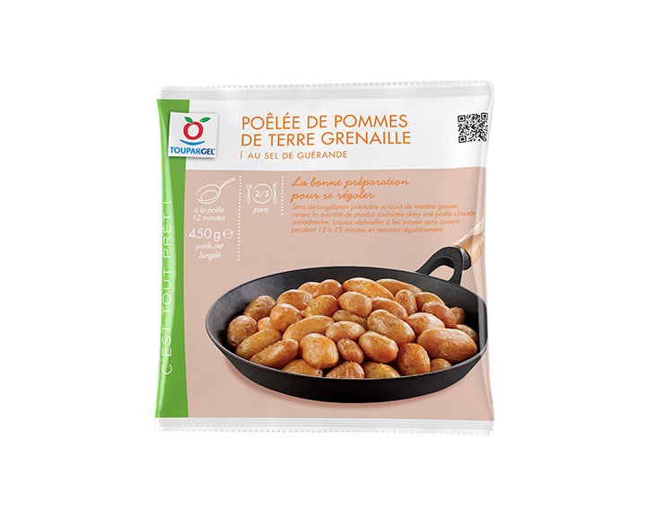 Poêlée surgelée de pommes de terre grenailles