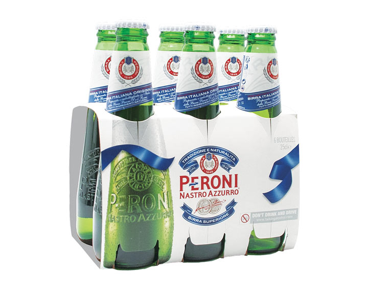 Pack Peroni 6x25cl
