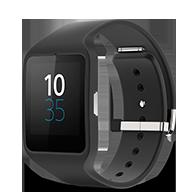 Montre Sony SmartWatch 3 SWR50 - coloris noir