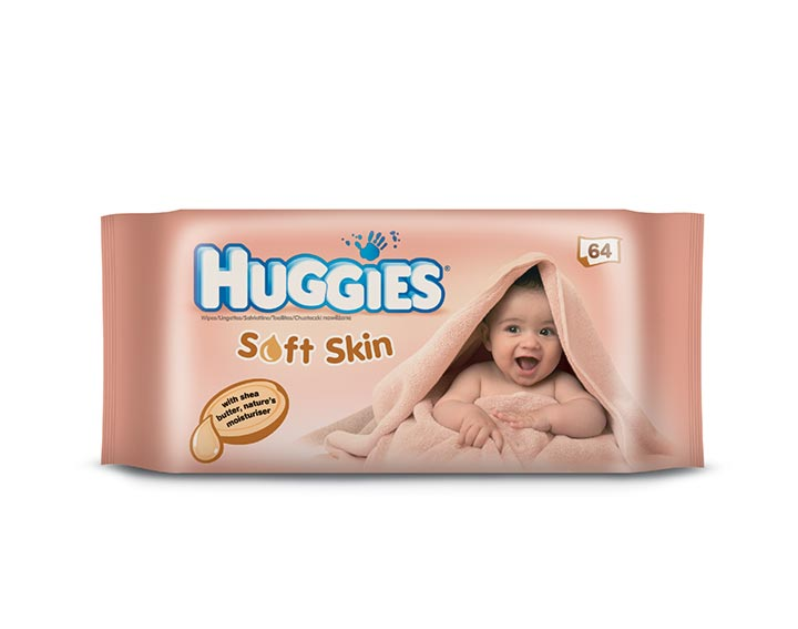 Huggies® Soft Skin – enrichi au karité