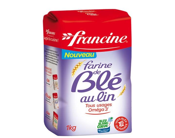 La Farine de Blé au Lin Francine