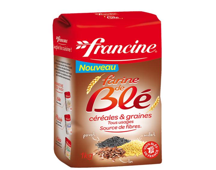 La Farine de Blé Céréales & Graines Francine