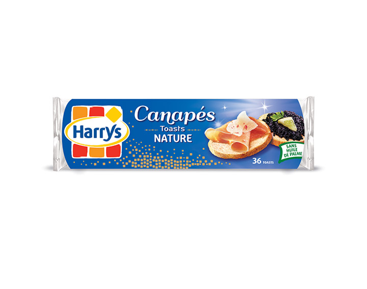 Toasts Canapés Nature