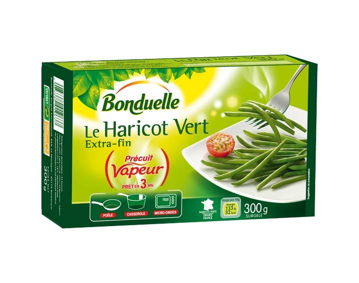Haricot vert Précuit Vapeur 300g