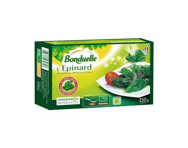 Epinard Feuilles Préservées 350g