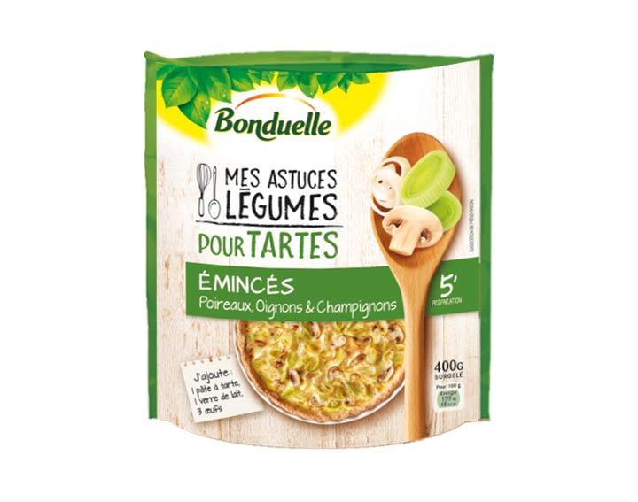 Pour tartes – Poireaux, Oignons 400g