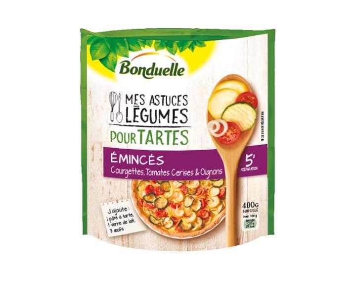 Pour tartes – Courgettes, Tomates 400g
