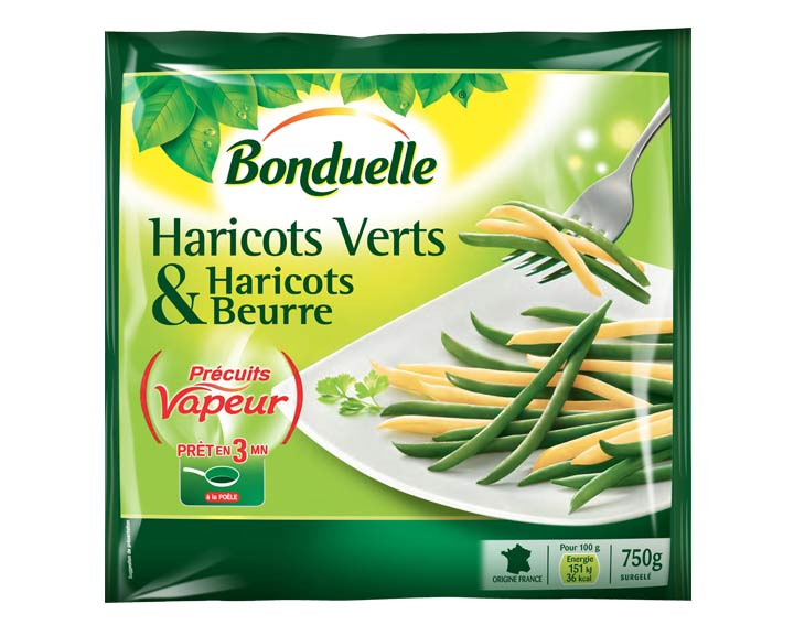 Duo Haricots verts & Haricots beurre 750g