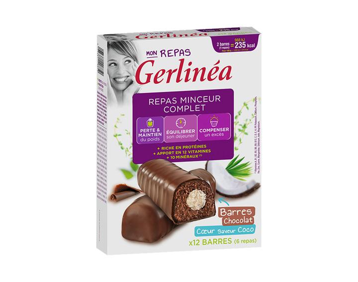 Barres Chocolat Coeur saveur Coco