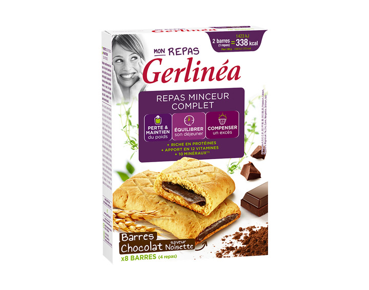 Barres Chocolat saveur Noisette