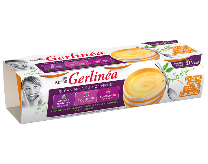 Crème saveur Vanille Caramel