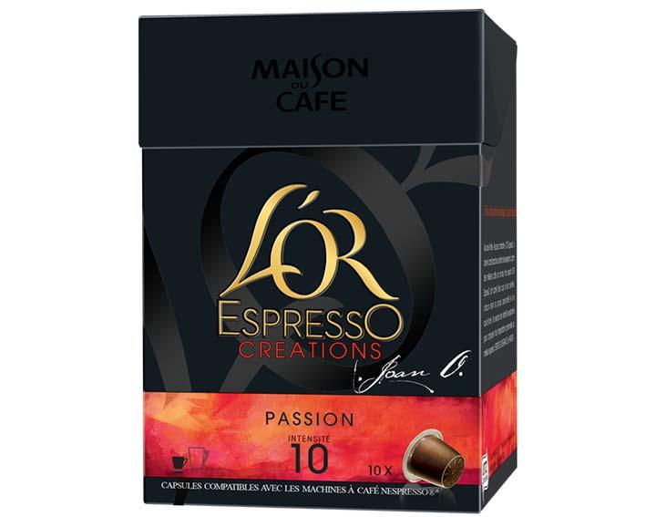 Capsules L'OR EspressO Passion