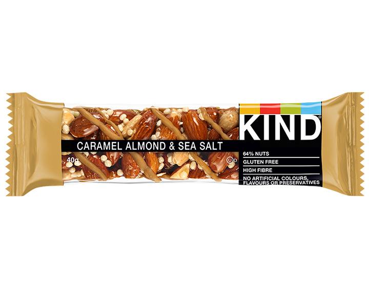 Caramel Almond & Sea Salt 40g