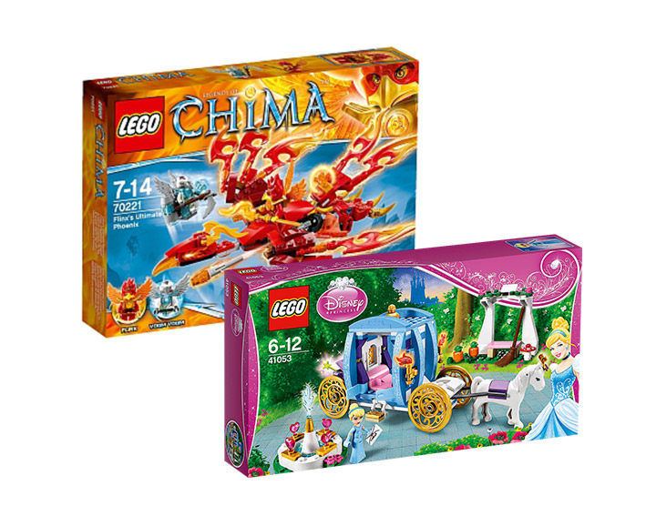 Toys R Us : catégorie LEGO