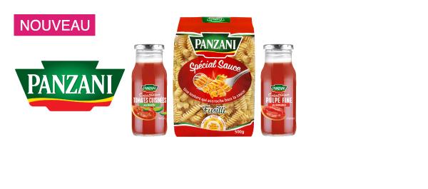 Les Pâtes et Sauces Panzani Créations