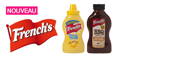 Les sauces French's