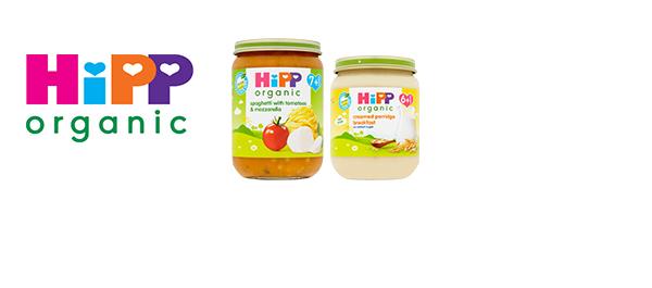 HiPP Organic jars