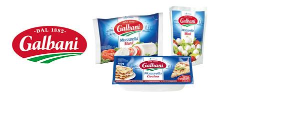 Les Mozzarellas Galbani